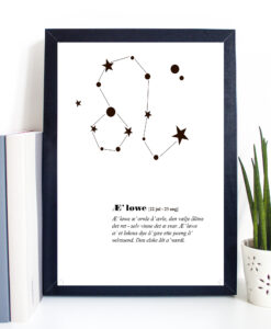 Æ' løwe - Stjernetegn