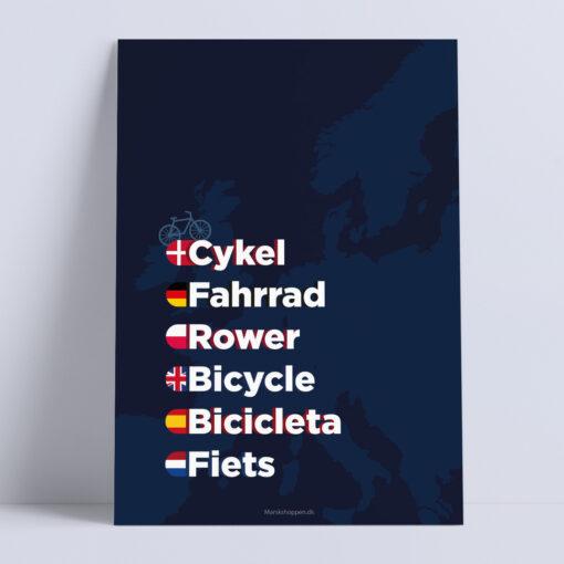 cykel-moerkeblaa